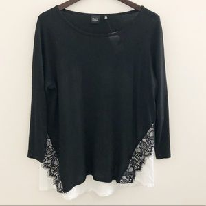SAKS FIFTH AVENUE BLACK LABEL Knit Sweater top